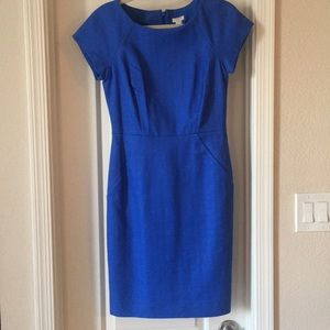 J. Crew Blue Dress NWT